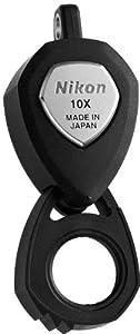 Nikon 10x Jewelry Triplet Loupe Jeweler Pocket Round Magnifier