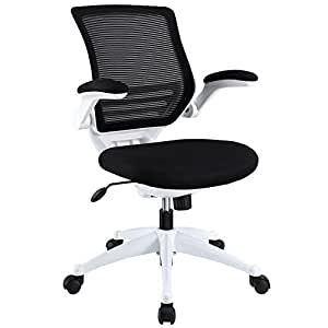 Lexmod Edge Office Chair With White Frame And