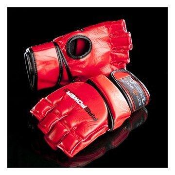 Firepower MMA Gloves Medium Red