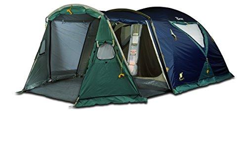 Bertoni Planet 5 Tenda da Campeggio, Blu/Verde Scuro