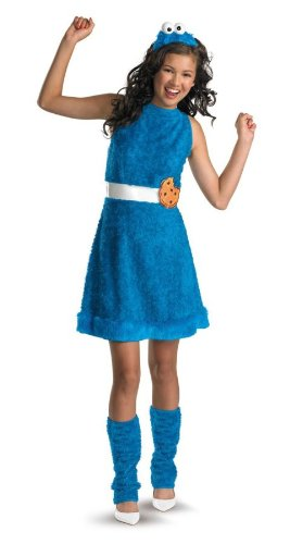 Costumes For All Occasions Dg11482J Cookie Monster Teen 14-16