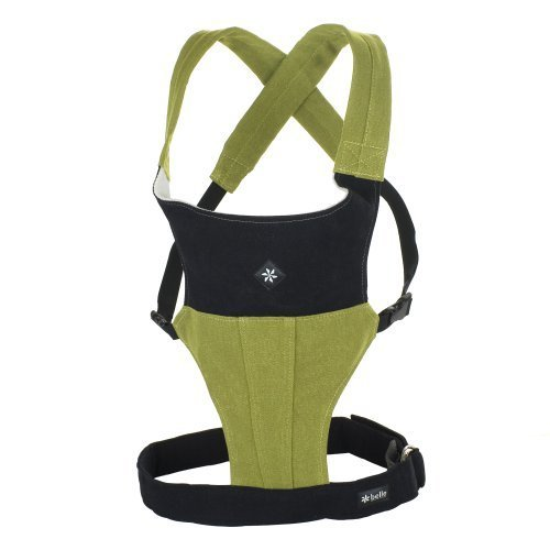 Belle Baby Organic Carriers with Head Support, Organic Moss (Discontinued by Manufacturer) by Belle Baby Carriers