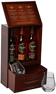 Glenfiddich Family Distillers Collection with 2 Glasses Gift Pack by Glenfiddich