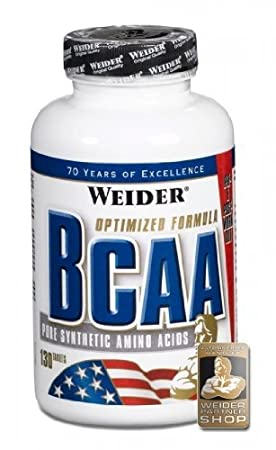 Weider BCAA Tabs Pure Synthetic Amino Acids, 260 Tabletten