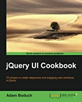 jQuery UI Cookbook Front Cover