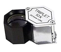 Se 10 X, 21mm Lens, Triplet Professional Loupes Chrome