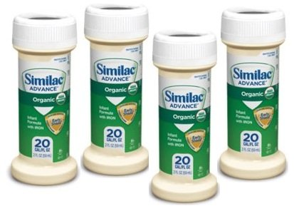 Similac Advance Organic Ready to Feed Formula, Baby/infant, 2 Fl Oz Pack of 4