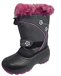 Kamik Bellissiomo Snow Boot (Big Kid/Little Kid), Charcoal,4 M US Big Kid