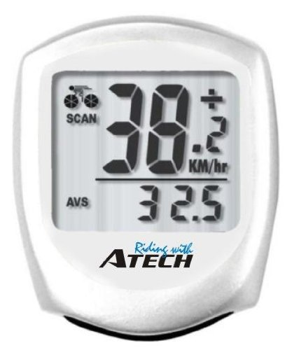 WCI Quality Wireless Bicycle Computer With Speed, Distance And Time Readings Display - Monitors Biking Exercise And Training Data