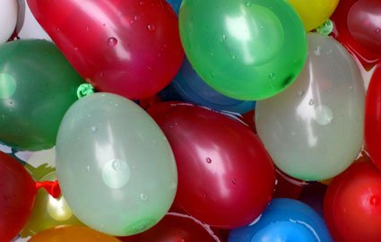 Mylife Multi Colored - Flexible Latex Rubber (100 Count Pack - Standard Size) Water Bomb Grenade Balloons (Great For Summer Pranks) front-1012406