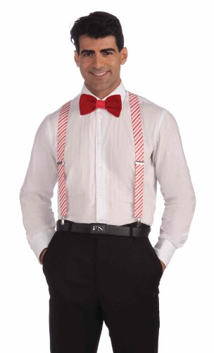 Forum Novelties Candy Cane Suspenders