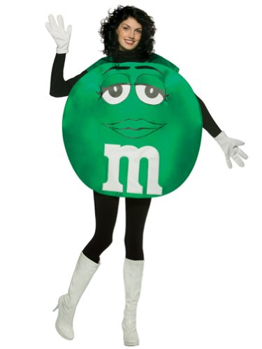 Green M&M Theatre Costumes Easy Costumes Food Candy Couples Costume Idea