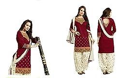 Shayona Salwar suit for women & girls(maroon)