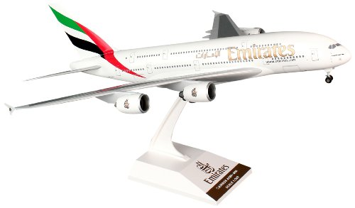 Daron Skymarks Emirates A380-800 Airplane Model Building Kit with Gear, 1/200-Scale (Emirates Model compare prices)