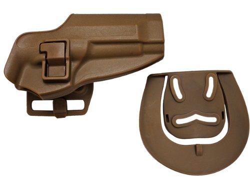 BHIスタイル CQCホルスター Beretta M92/96 TAN