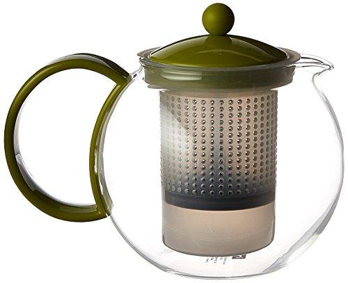 Bodum Assam Tea Press, 34-Ounce, Green (Bodum Hot Water Kettle 34 Oz compare prices)