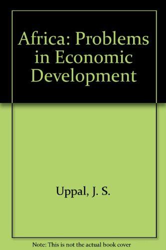 Africa: Problems in Economic Development PDF