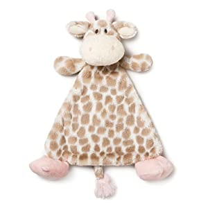 Nat and Jules Plush Toy, Sadie Giraffe Rattle, Blankie