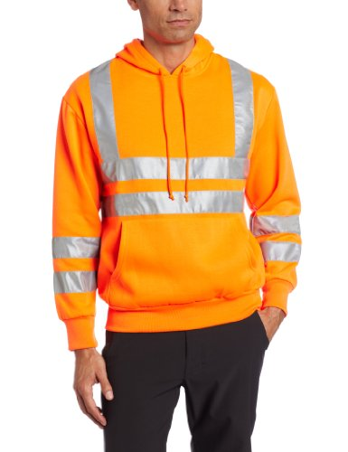 "dutch harbor men Stay safe, even in inclement weather, with dutch harbor's men's maxflect safety rain jacket maxflect neon-green color teams with 2"" silver 3m™ scotchlite™ reflective material to ensure high visibility."