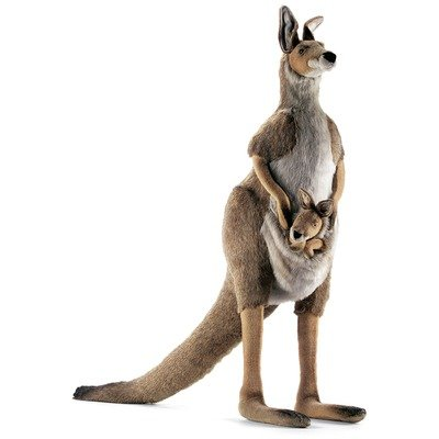 Hansa - Jasmine Life-Size Kangaroo