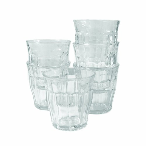 Duralex Picardie 8-3/4-Ounce Clear Tumbler, Set Of 6