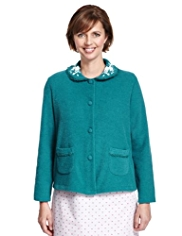 Bouclé Bed Jacket