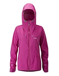 Rab Charge Jacket Womens [RAB014-PEONY-14]