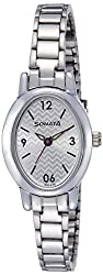 Sonata Analog Off-White Dial Womens Watch - 8100SM03