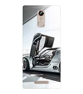 EPICCASE Cool car Mobile Back Case Cover For Gionee S6S (Designer Case)