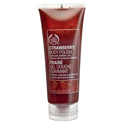 The Body Shop Mini Strawberry Body Polish 2.5 Oz.