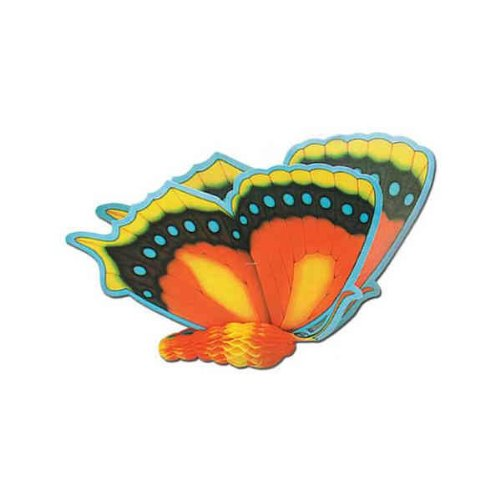 Tissue Butterflies (asstd designs) Party Accessory  (1 count) - 1