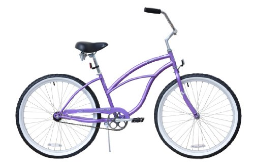 "Buy Firmstrong Urban Lady Single Speed - Women's 24"" Beach Cruiser Bike (Purple)"