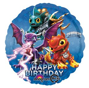 Skylanders Giants Happy Birthday Foil Mylar Balloon (1ct)