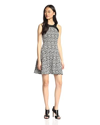 4.collective Women's Leopard Knit Dress