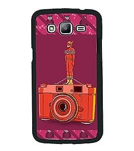 PrintVisa Metal Printed Crazy Designer Back Case Cover for Samsung Galaxy J5-D4921