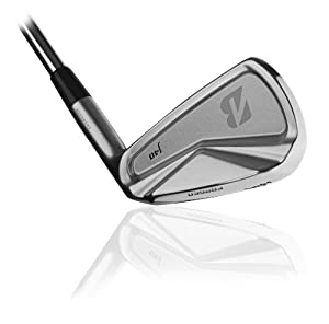 Bridgestone Golf Men's J40 Cavity Back Individual Irons #4 (Right Handed, PX Flighted, 6.0 degrees, Stiff)