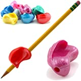 The Pencil Grip Crossover Grip Ergonomic Writing Aid for Righties and Lefties, 6 Count Metallic Colors (TPG-17706)