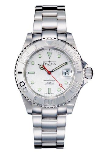 Davosa - 16145510 - Montre Homme - Automatique - Analogique - Bracelet Acier Inoxydable Argent