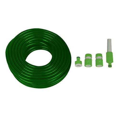 5-teiliges-Bewsserungsset-1-Schlauch-18-m-1-verstellbare-Spritzdse-1-Wasserhahnaufsatz-zum-Anschrauben-2-Schnellkupplungen