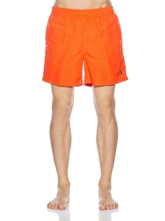 POLO Ralph Lauren - Shorts de bain - Homme - Maillot de Bain Orange - M