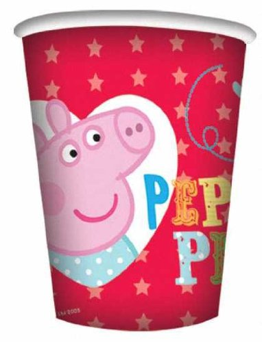 Buy Bargain Peppa Pig Red Party Cups