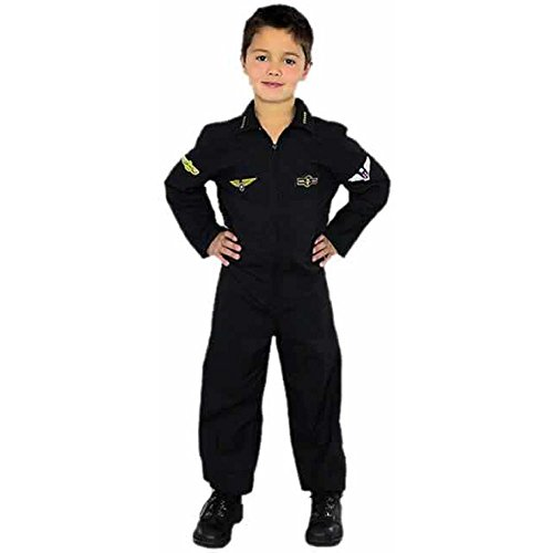 Child's Air Force Stealth Pilot Costume Size: Child X-Large