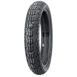 Dunlop K330 Tire - Front - 100/80-16 , Rim Size: 16, Speed Rating: S, Tire Type: Street, Tire Construction: Bias, Tire Size: 100/80-16, Load Rating: 50, Position: Front, Tire Application: Sport 32QF62