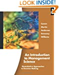 An Introduction to Management Science...