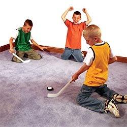 Mini Carpet Hockey Set by Funslides