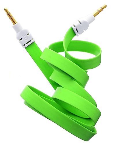 neue-qualitat-grun-35mm-stereo-stecker-auf-stecker-aux-wohnung-kein-tangle-noodle-kabelkabel-fur-app