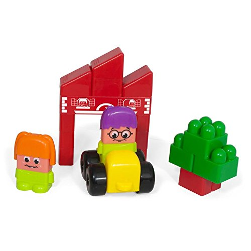 Miniland Super Car Blocks Set front-599082