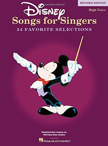 Disney Songs for Singers Edition: High Voice (Tapa Blanda)