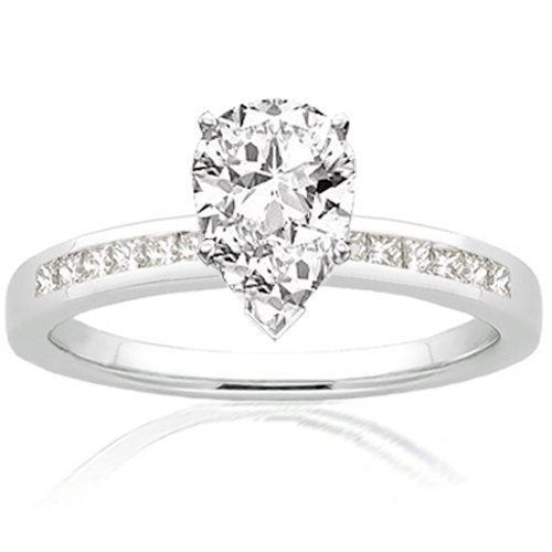 Pear Shaped Engagement Rings GoodPrice