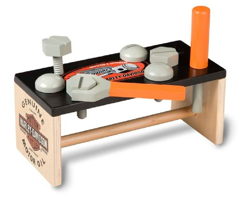 Harley Davidson Biker Club: Wooden Tool Bench by Kids Preferred
